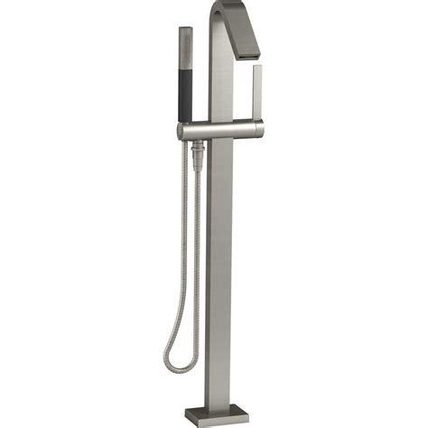 Kohler Loure Polished Chrome Freestanding Tub Only Faucets