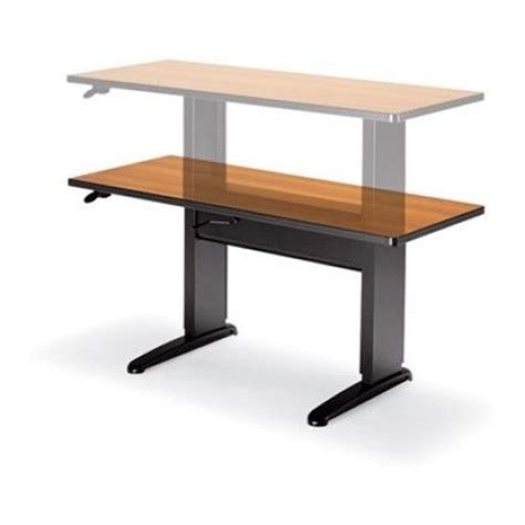 motorized standing desk canada 1000 images about office tables on bar lounge