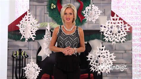large hanging snowflakes shindigz christmas decorations