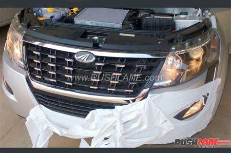 mahindra xuv facelift details revealed launch