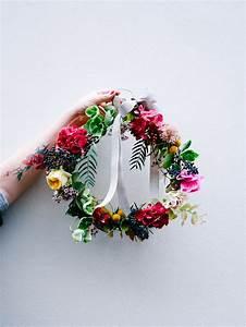 Couronne De Fleurs Mariée : diy une couronne de fleurs lili in wonderland ~ Farleysfitness.com Idées de Décoration