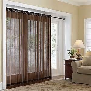 bamboo grommet panels for patio door next home