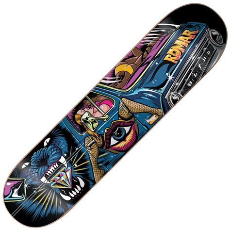 Blind Skateboards Romar This Decks Arockin Skateboard