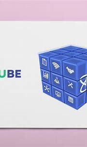 3D CUBE Design with PowerPoint on Behance