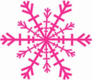 Red and Green Snowflake Clip Art | Snowflake Clip Art at ...