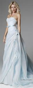 2014 Wedding Inspiration: Pale Blue Wedding Dresses
