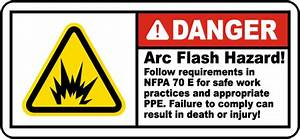 follow requirements for nfpa 70e label j5505 by With arc flash labels nfpa 70e