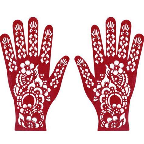 henna schablonen hennaschablonen henna tattoos mehndi style
