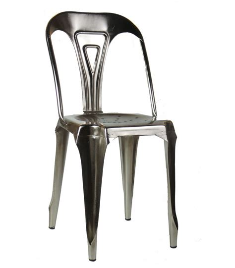 chaise en métal chaise style industriel en métal vintage fer wadiga com