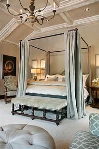 Elegant, Iron, Canopy, Bed, Frame, U2013, Homesfeed