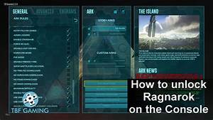 How To Unlock Ragnarok PS4 Xbox One Using Commands Ark