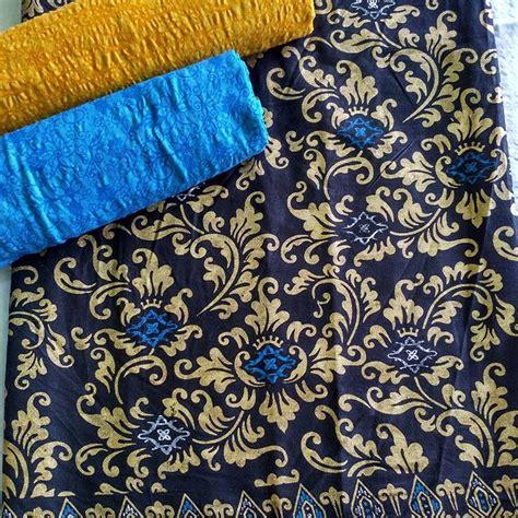kain emboss 2 kain batik prada kombinasi embos p2 1 batik pekalongan