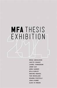 MFA Thesis Exhibition - The University of Arizona Museum ...