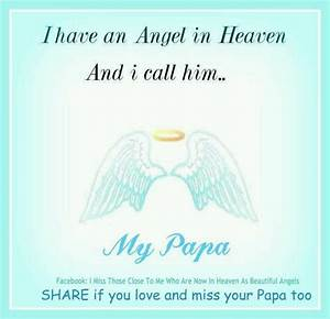 angel in heaven called papa | My Father-My Hero ...