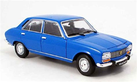 peugeot  berline miniature bleu  welly