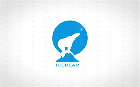 Magnificent Ice Bear Logo For Sale Polar Bear Logo