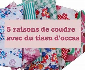 Création Avec Tissus : 5 bonnes raisons de coudre avec du tissu d 39 occas 39 blog de petit citron blog de petit citron ~ Nature-et-papiers.com Idées de Décoration