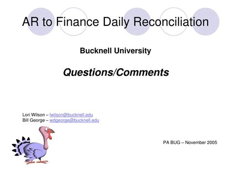 ar  finance daily reconciliation powerpoint