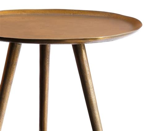 pottery barn table ls euclid accent table pottery barn