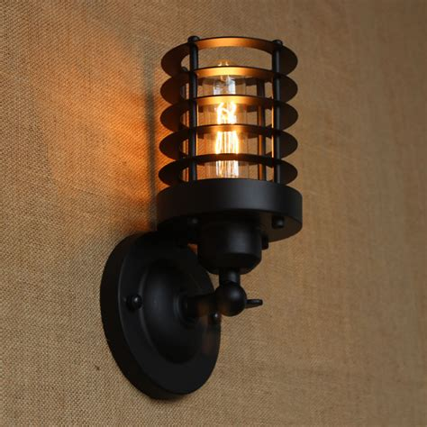 aliexpress buy black metal wall l light for led