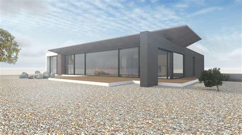 Moderne Häuser Ebenerdig by Architektenhaus Ebenerdig Auf 1 Geschoss Mit Flachdach Im
