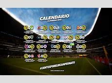 Calendario club america liga mx y copa Bancomer