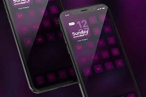 Ios, 14, Aesthetic, Home, Screen, Ideas, With, Icon, Pack, To