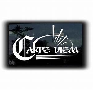 carpe diem vinyl decal stickers With custom sticker website