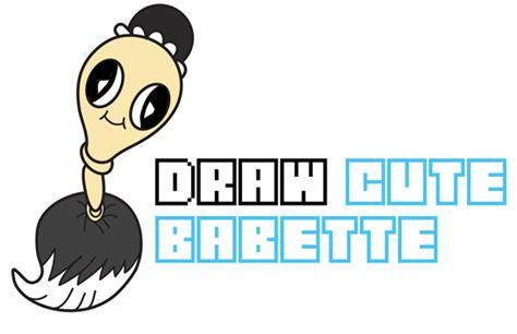 draw babette cute chibi kawaii  beauty