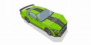 Build Your Own (Paper) Ford Mustang Shelby GT500 - My Own Auto