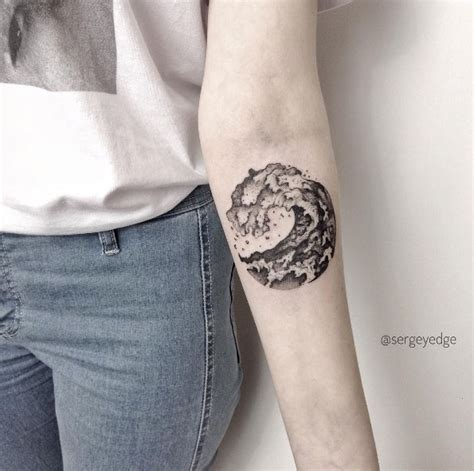 wave tattoos youll   tattooblend