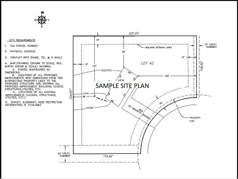 Sample Site Plan (pdf)