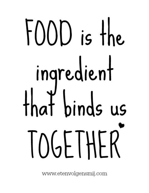 food   ingredient  binds   love