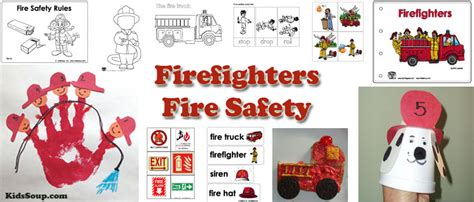 firefighter and safety activities lessons and 442 | Firefighters Activities Crafts Preschool