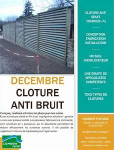 Palissade Anti Bruit : combier paysage ~ Premium-room.com Idées de Décoration