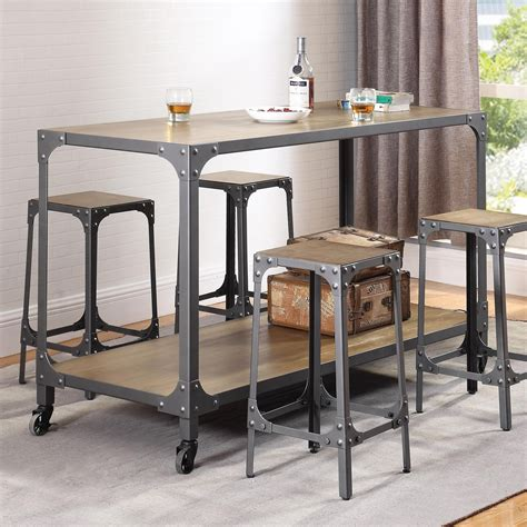 kitchen islands with chairs coaster kitchen carts rustic kitchen island and stools 5270