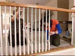 How To Paint And Install Balusters
