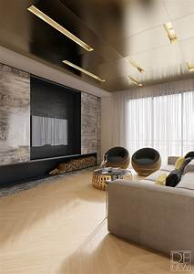 Brass ceiling interior design ideas a cozy social area for Model home interiors clearance center