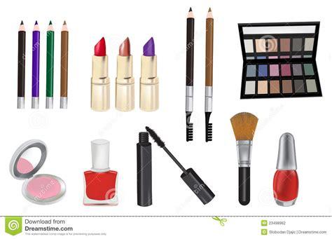 cosmetics vector illustration stock