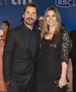 Christian Bale Wife Sibi Blazic Coordinate Premiere