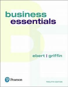 Ebert  U0026 Griffin  Business Essentials
