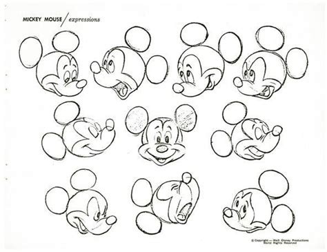 How To Draw Disney's Most Famous Cartoon Character