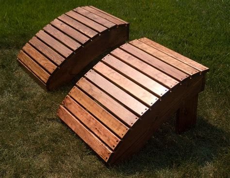 Adirondack Chair Ottoman Plans by Adirondack Footstool Only Outside Patio Ideas