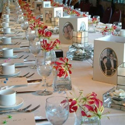 wedding reception table ideas wedding dresses these pictures below are of reception table centerpieces for a theme