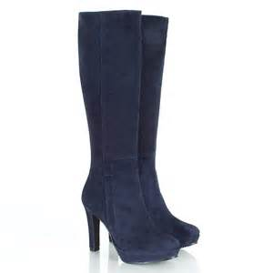 womens boots navy blue daniel navy suspicious s knee high boot