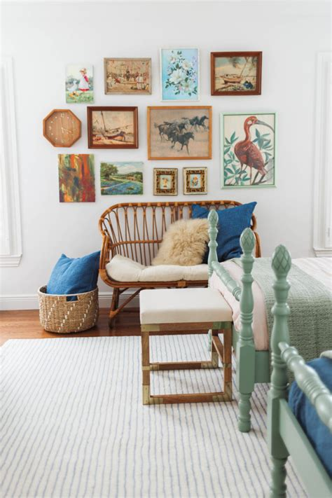 Gender Neutral Shared Kids' Bedroom  Claire Brody Designs