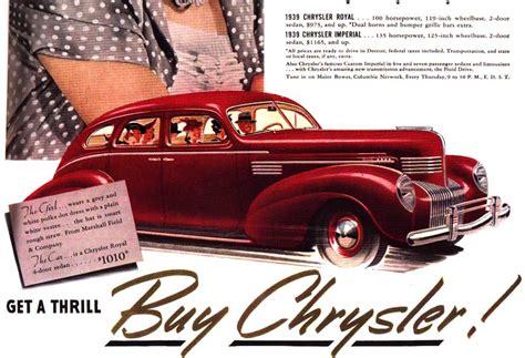 Chrysler Advertising by Advertising