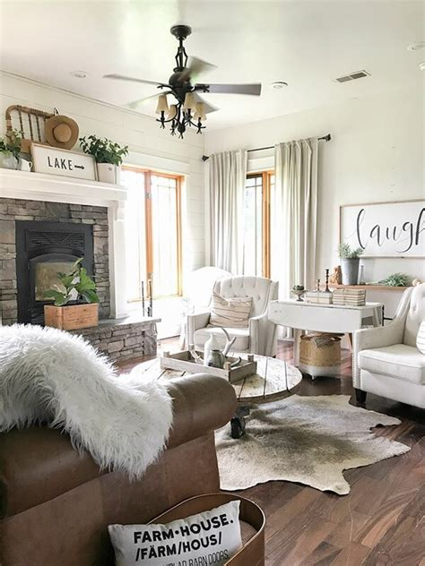 farmhouse living room summer decor twelve  main
