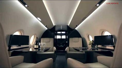 Corporate Jet - Gulfstream G280 - Interior View - YouTube