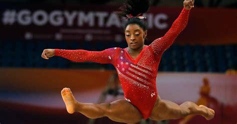 simone biles leads  womens gymnastics  world championship